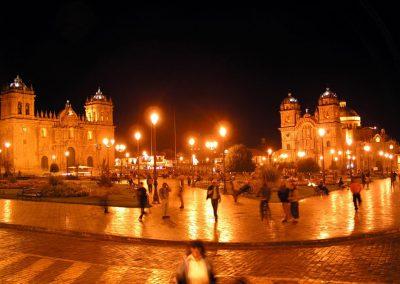 main-square-cusco-night